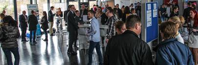Zahlreiche Besucher beim Tag der offenen Tür & Recruiting Day