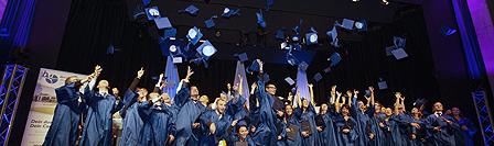 Akademische Feier des WS2012 – 86 Absolventen des 10. Jahrgangs erhielten im feierlichen Rahmen ihre Bachelor-Urkunden und Zeugnisse