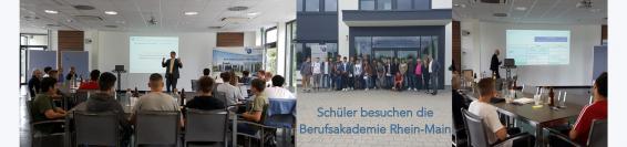 Schüler besuchen die Berufsakademie Rhein-Main
