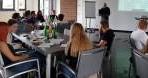 Schüler der Kurt-Schumacher-Schule aus Karben zu Besuch