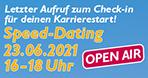 Jetzt anmelden! 23.06. Last-Minute-Speed-Dating mit Studienplatzbörse