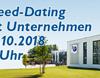 Jetzt anmelden: Speed-Dating & Bewerbertag für das WS 2019